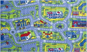 "Driving Time Rug 39"" X 58"""