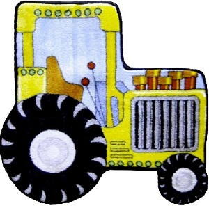 "Tractor Rug 31"" X 31"""