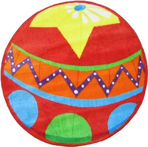 Circus Ball Rug 39 Quot Round