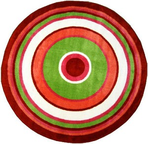 "Concentric 3 Rug 51"" Round"