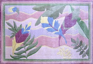 "Feathers Rug 39"" X 58"""