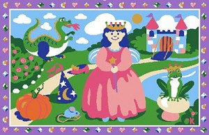 "Happily Ever After Rug 19"" X 29"""