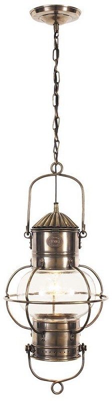 Globe Lantern Electric Lamp Hanging Ceiling Lamp Nautical Lighting