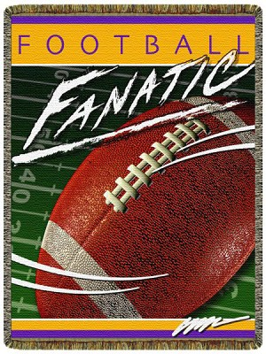 Football Fanatic Tapestry