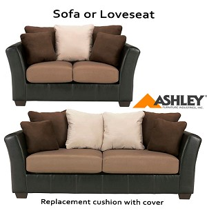 ashley masoli beige replacement cushion cover 1420138 sofa or 1420135 love. Black Bedroom Furniture Sets. Home Design Ideas