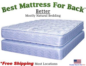 Eastern King Better, Best Mattress For Back