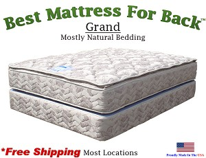 Queen XL Grand, Best Mattress For Back