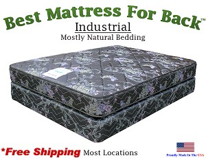 Full Extra Long Industrial, Best Mattress For Back