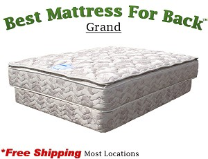 Expanded Queen Grand, Best Mattress For Back