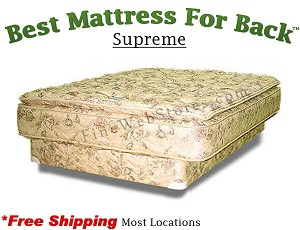 Expanded Queen Supreme, Best Mattress For Back