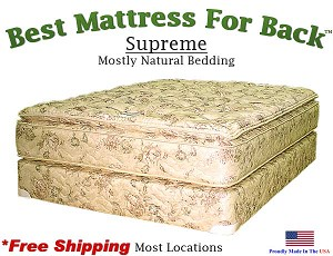 Three Quarter Supreme, Best Mattress For Back