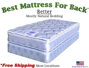 Twin XXL Better, Best Mattress For Back