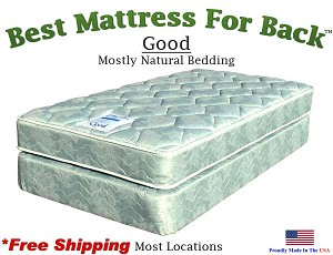 Twin XL Good, Best Mattress For Back