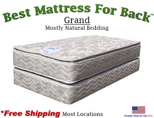 Twin XXL Grand, Best Mattress For Back