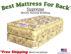 Dorm Supreme, Best Mattress For Back