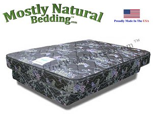 Expanded Queen Mattress And Box Foundation Set Abe Feller® Industrial