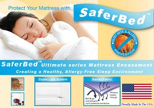 Daybed Size Allergy Mattress Cover, Dust Mite Mattress Cover