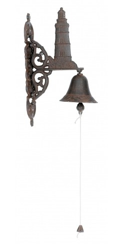 Cast Iron Lighthouse Bell