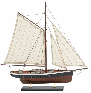 Emerald Sailing Ship Model