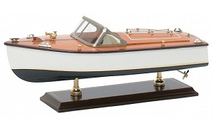 Runabout Speed Boat Model