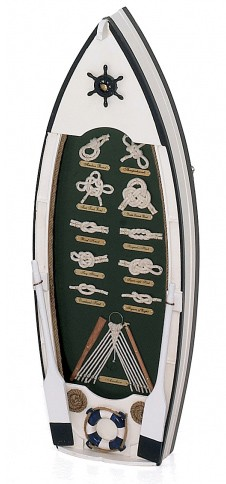 Rowboat Knot Board With Storage