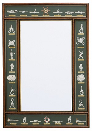 Large Knot Board Mirror