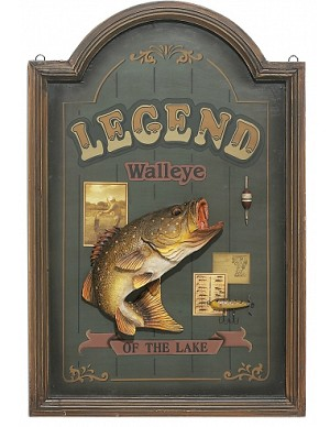 Legend Of The Lake Wood Sign
