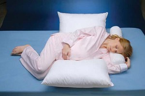Side-Lying Maternity Sleep Pillow