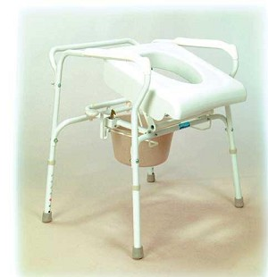 Uplift Commode Assist Self Powered Lifting Mechanism