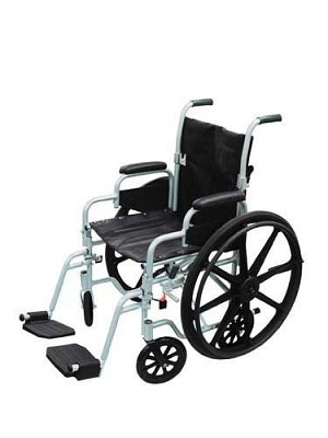 Pollywog Wheelchair Transport Combination Chair 16 Inch Width