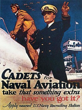 Naval Aviation Cadets Metal Sign