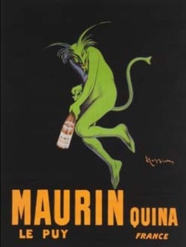 Maurin Quina Metal Sign
