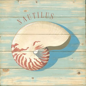 Nautilus Vintage Metal Sign