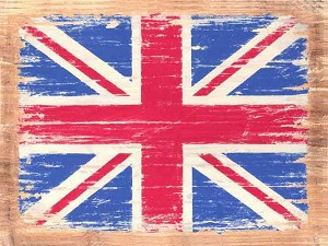 Union Jack Vintage Metal Sign