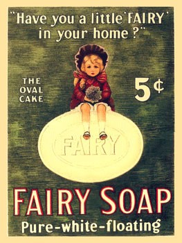 Fairy Soap Vintage Metal Sign
