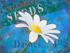 Daisy Vintage Metal Sign