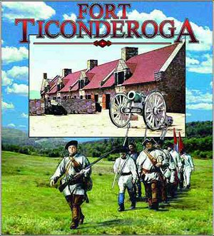 Fort Ticonderoga New York Tapestry