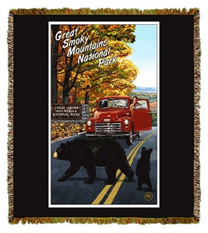 Great Smoky Mountains Artist Tapestry