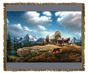O Beautiful for Spacious Skies Artist Tapestry