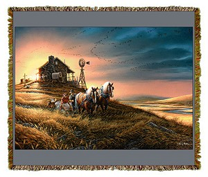 For Amber Waves of Grain Artist Tapestry