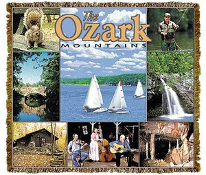 Ozark Mountains Arkansas Tapestry