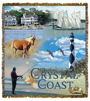 Crystal Coast North Carolina Tapestry