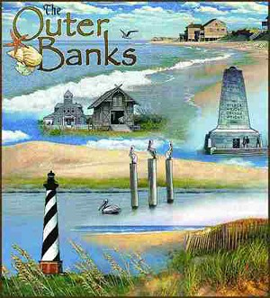 Outer Banks North Carolina Tapestry