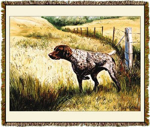 German Shorthaired Ruth Maystead © Tapestry