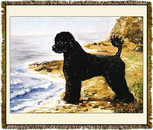 Portugese Water Dog Ruth Maystead © Tapestry