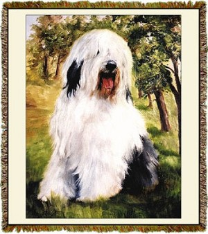 Old English Sheepdog Ruth Maystead © Tapestry