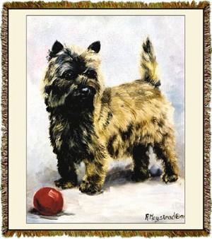 Cairn Terrier Ruth Maystead © Tapestry