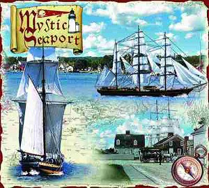 Mystic Seaport Connecticut Tapestry