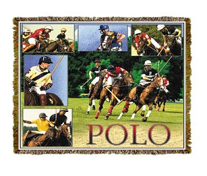 Horse Polo Tapestry