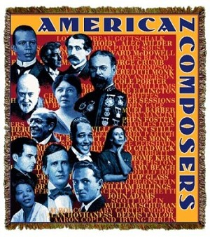 American Composers Tapestry